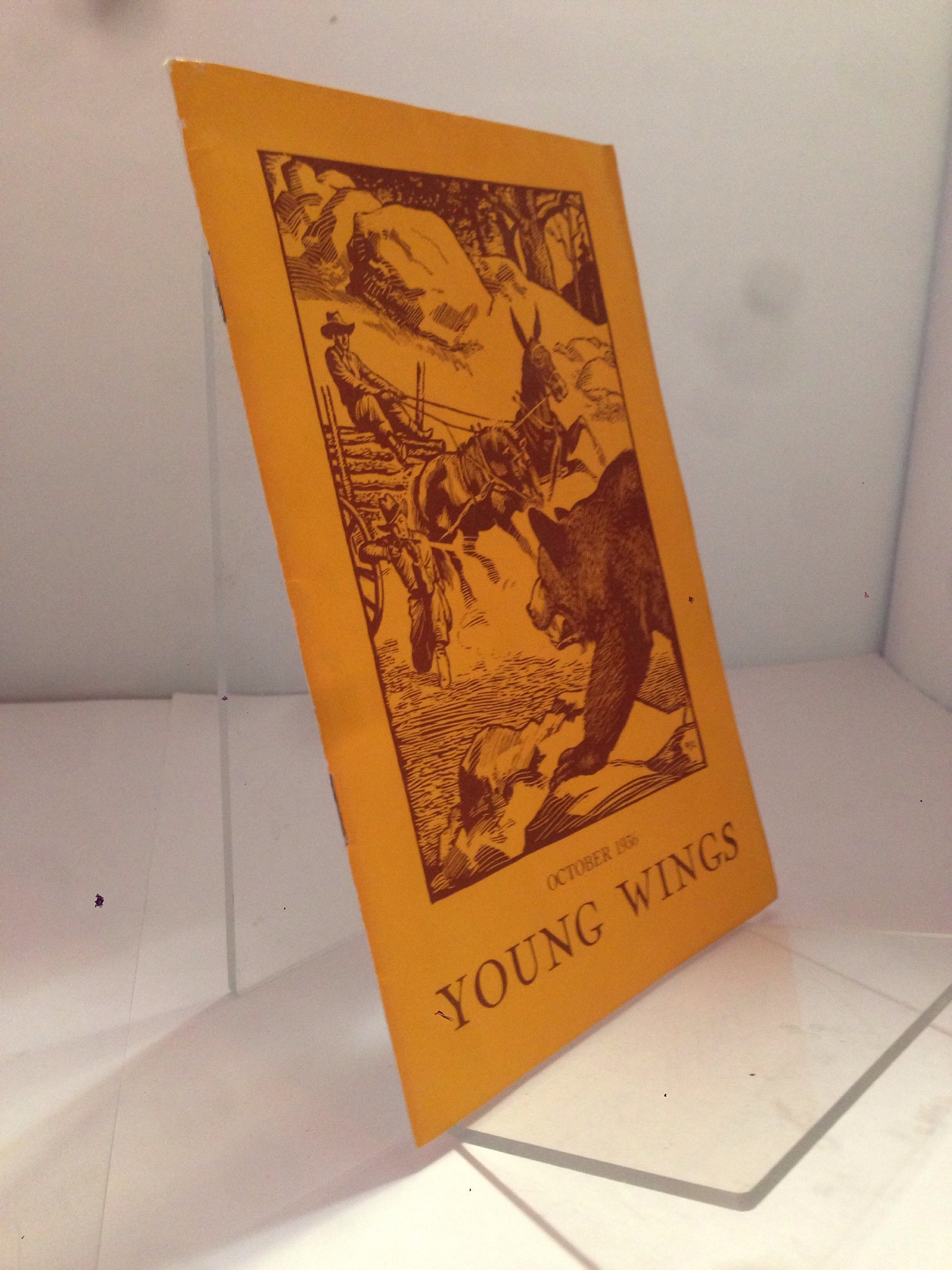 Image for Young Wings: October 1936 by Helen Ferris (Editor)