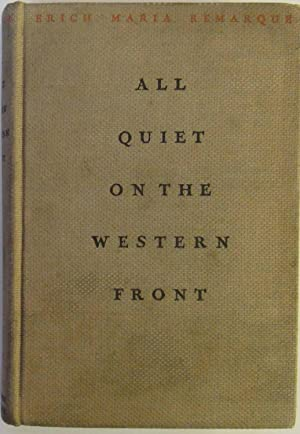 Image for All Quiet On The Western Front by Remarque, Erich Maria