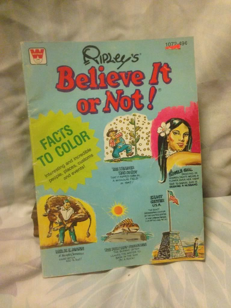 Image for Ripley's Believe It or Not! Coloring Book