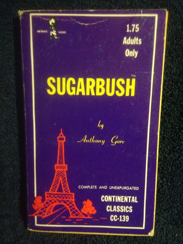 Image for Sugarbush Continental Classics Erotica Book CC-139 by Anthony Gore