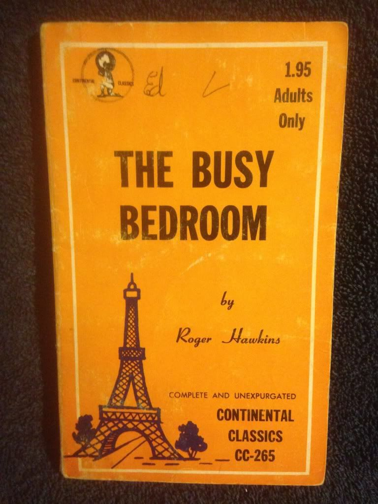 Image for The Busy Bedroom Continental Classics CC-265 Erotica Book by Roger Hawkins
