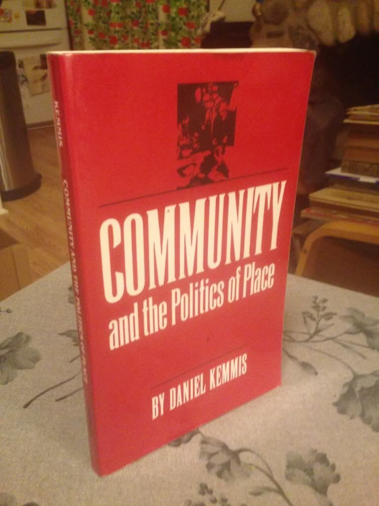 Image for Community and the Politics of Place