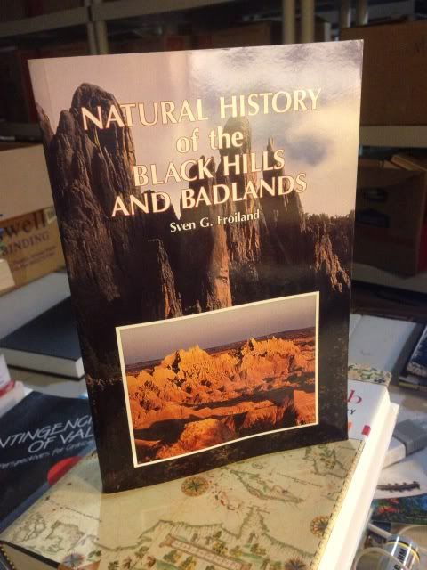 Image for Natural History of the Black Hills and Badlands