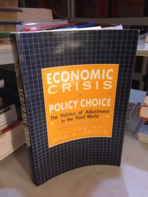 Image for Economic Crisis and Policy Choice