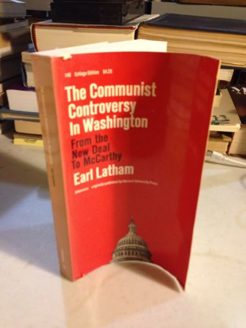 Image for The Communist controversy in Washington; from the New Deal to McCarthy.