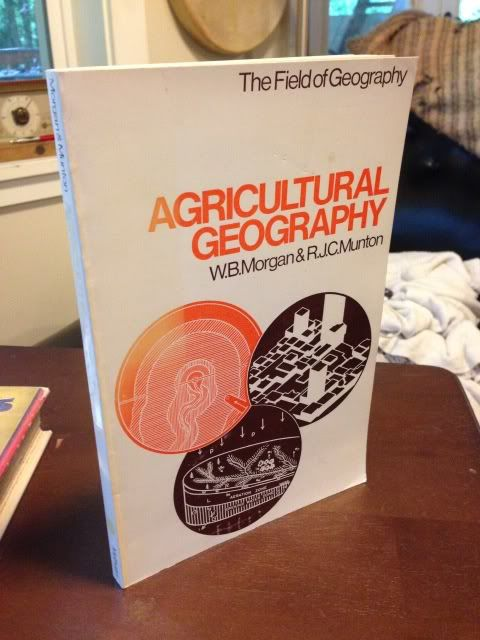 Image for Agricultural geography (The field of geography)