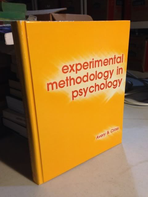 Image for Experimental methodology in psychology (Corebooks in psychology series)