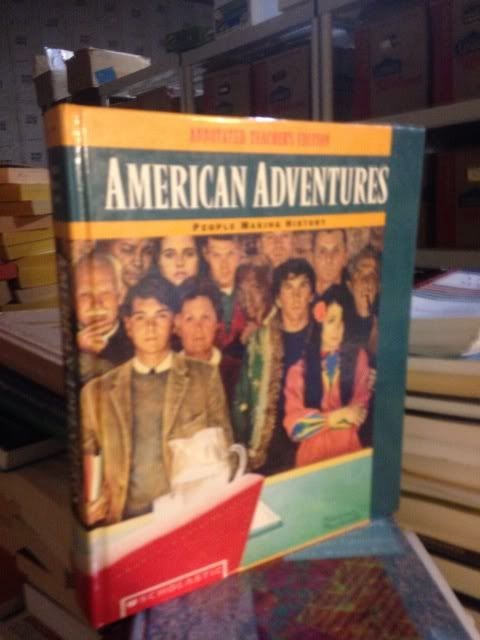 Image for American adventures: People making history