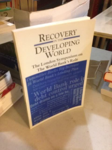 Image for Recovery in the Developing World: The London Symposium on the World Bank's Role, February 14-15, 1985/Bk-0776