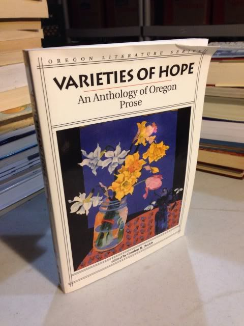 Image for Varieties of Hope: An Anthology of Oregon Prose (Oregon Literature Series)
