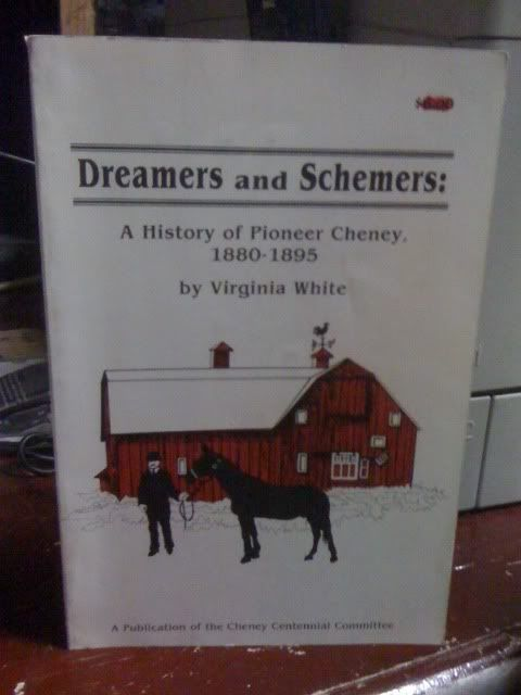 Image for Dreamers And Schemers: A History Of Pioneer Cheney, 1880-1895