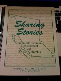 Image for Sharing Stories: Community Economic Development in British Columbia