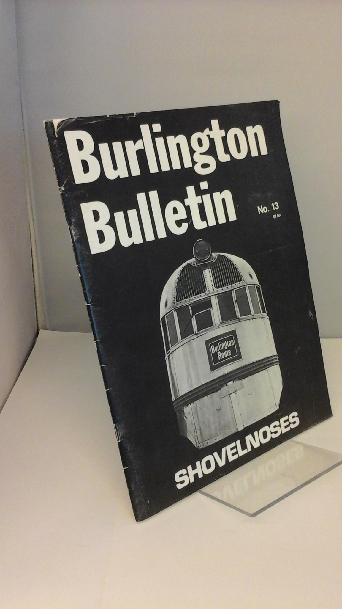 Image for Burlington Bulletin No. 13 - Shovelnoses