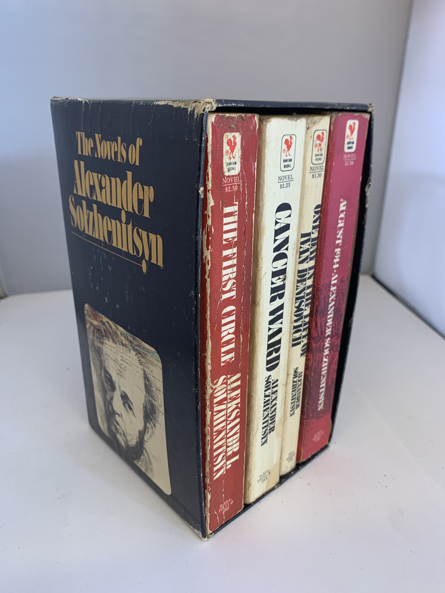 Image for The Novels of Alexander Solzhenitsyn:4-Book Set Cancer Ward, August 1914, The First Circle, One Day in the Life of Ivan Denisovich)